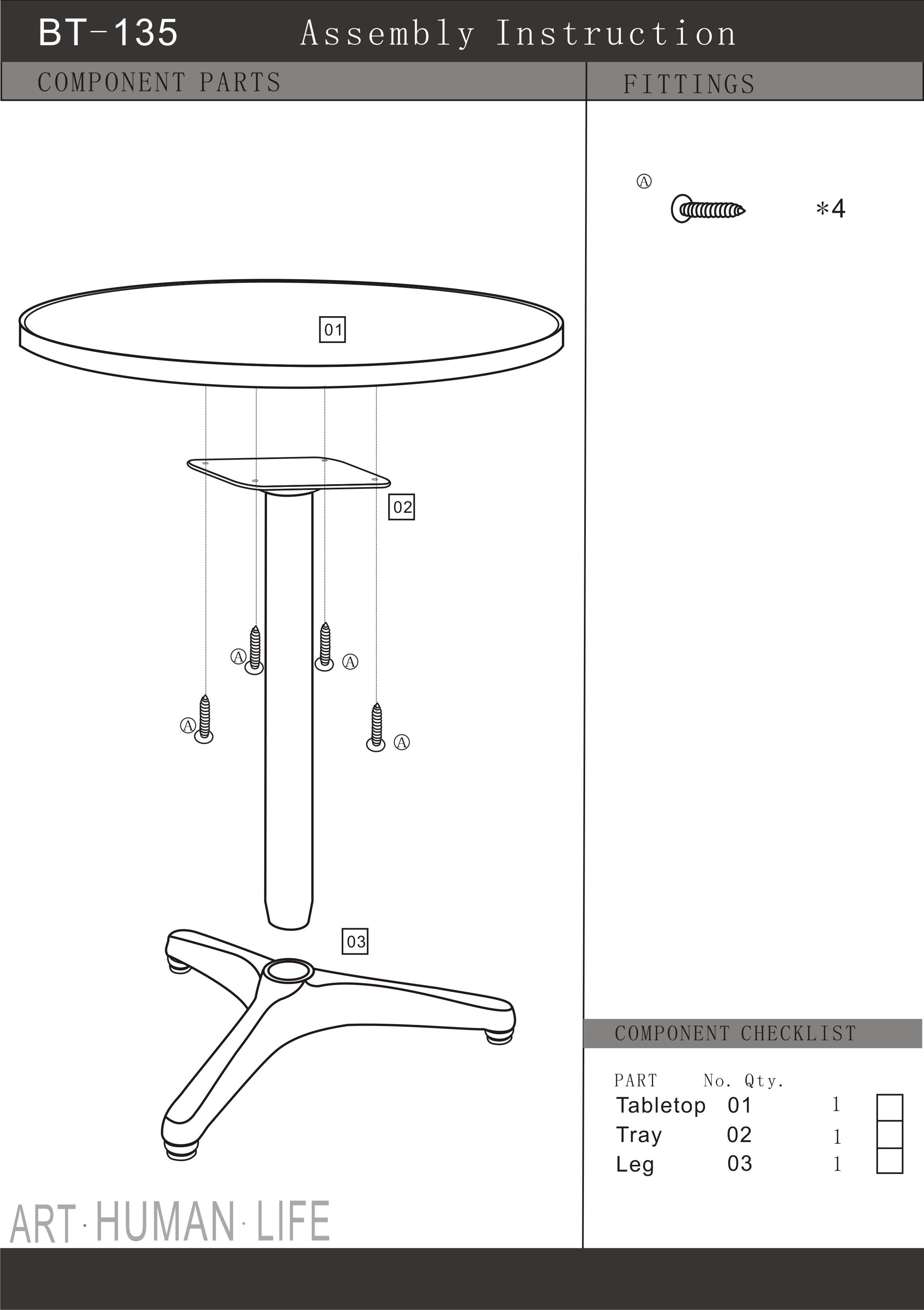 Charming Modern Round Bar Table Item# DR71358