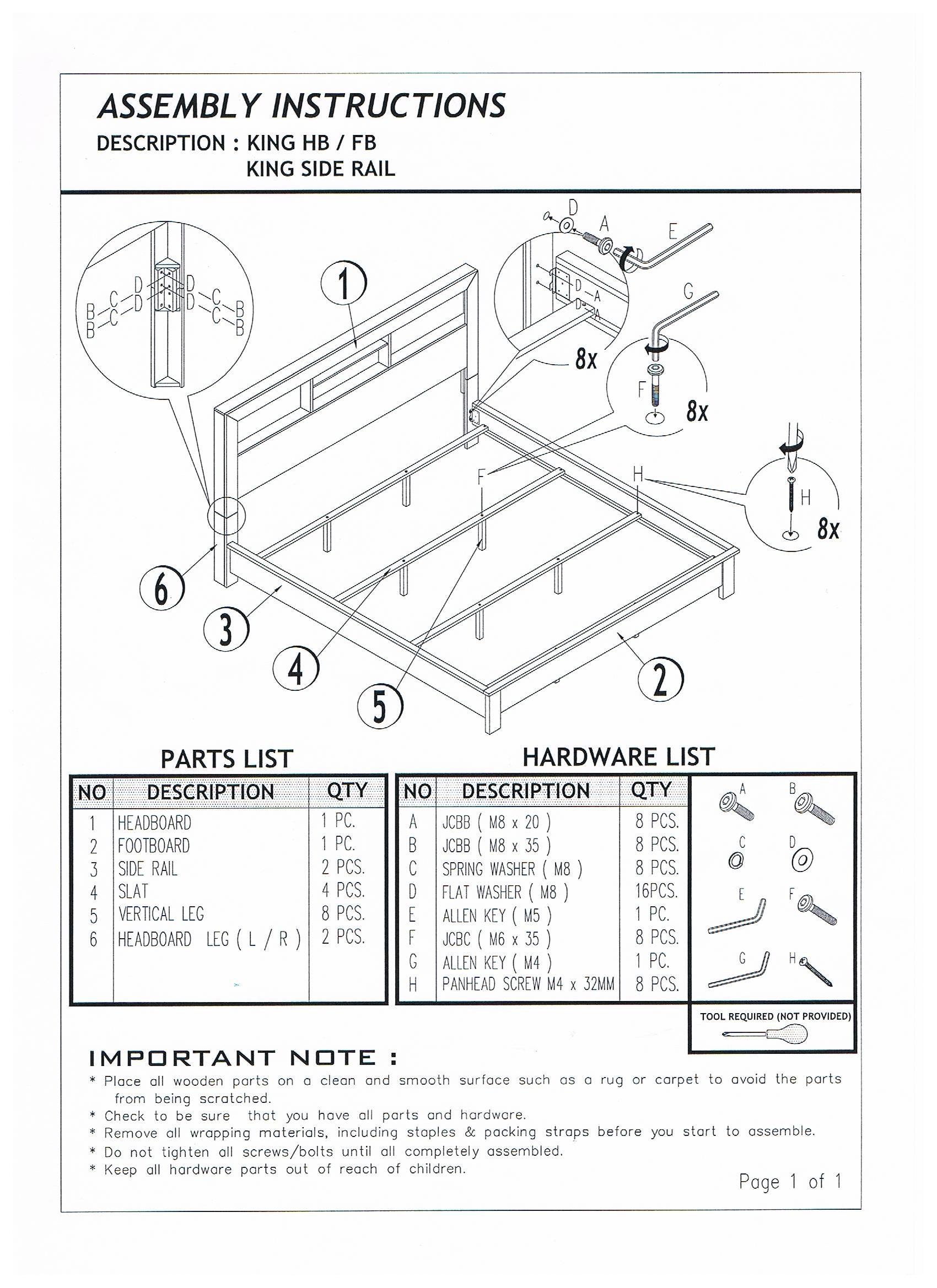 Split King Adjustable Bed1 Manual Guide