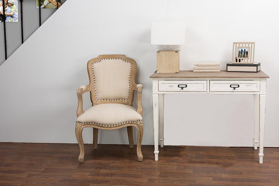 Dauphine Writing Desk   Baxton Studio