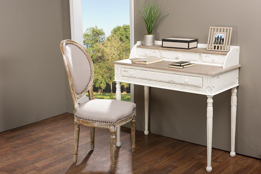 Anjou Writing Desk | Baxton Studio